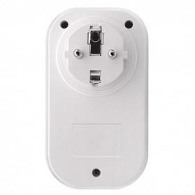 Sonoff Stop Kontak Smart Plug WiFi Wireless Remote Control EU Plug - S20 - White - 2