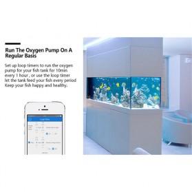 Sonoff Stop Kontak Smart Plug WiFi Wireless Remote Control EU Plug - S20 - White - 6