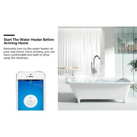 Sonoff Stop Kontak Smart Plug WiFi Wireless Remote Control EU Plug - S20 - White - 7
