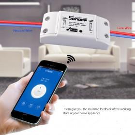 Sonoff BASIC Wifi Smart Switch - TSR588 - White - 5