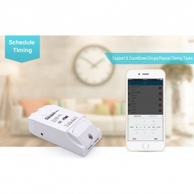 Sonoff Wifi Smart Switch Home Automation Kit - TH16 - White - 2