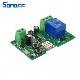 Sonoff Smart Wireless Relay Module Home Automation 12V - Green