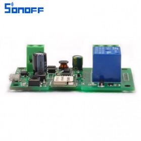 Sonoff Smart Wireless Relay Module Home Automation 12V - Green - 3