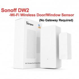 Sonoff Smart Alarm Sensor Pintu Jendela Rumah WiFi - DW2 - White
