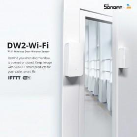 Sonoff Smart Alarm Sensor Pintu Jendela Rumah WiFi - DW2 - White - 5