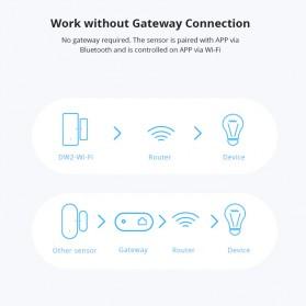 Sonoff Smart Alarm Sensor Pintu Jendela Rumah WiFi - DW2 - White - 7