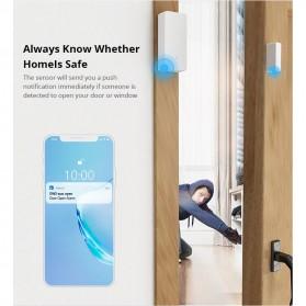 Sonoff Smart Alarm Sensor Pintu Jendela Rumah WiFi - DW2 - White - 8
