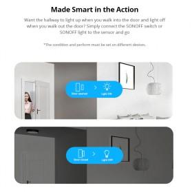 Sonoff Smart Alarm Sensor Pintu Jendela Rumah WiFi - DW2 - White - 9