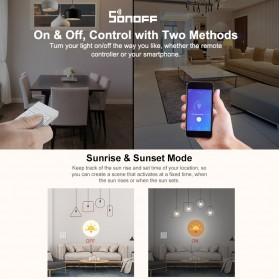 Sonoff Smart Dimmer WiFi Switch Remote Voice Control - D1 - White - 4