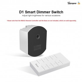 Sonoff Smart Dimmer WiFi Switch Remote Voice Control - D1 - White - 6
