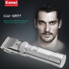 Kemei Alat Cukur Elektrik Hair Trimmer Shaver - KM-9801