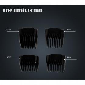 Kemei Alat Cukur Elektrik Hair Trimmer Shaver - KM-9801 - 3