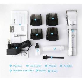 Kemei Alat Cukur Elektrik Hair Trimmer Shaver - KM-9801 - 10