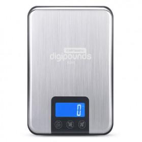 Taffware Digipounds Timbangan Dapur 15kg 1g - K8H - Silver - 2