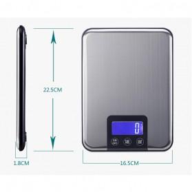 Taffware Digipounds Timbangan Dapur 15kg 1g - K8H - Silver - 3