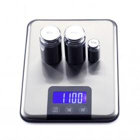 Taffware Digipounds Timbangan Dapur 15kg 1g - K8H - Silver - 5
