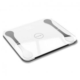 Lungpai Timbangan Badan Elektronik Bluetooth Body Fat 180kg with Temperature - 6011 - White - 2