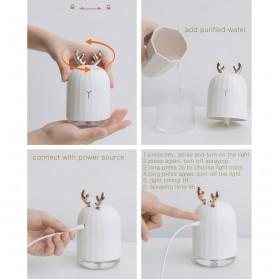 3Life Air Humidifier Pelembab Udara Aromatherapy Oil Diffuser 220ml - 3Life-318 - White - 10