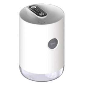 3Life Air Humidifier Portable Pelembab Udara Aromatherapy Oil Diffuser 1000ml - 211 - White