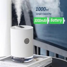 3Life Air Humidifier Portable Pelembab Udara Aromatherapy Oil Diffuser 1000ml - 211 - White - 3