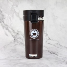 Dangda Style Botol Thermos 304 Stainless Steel 380ml - AX-1189 - Coffee