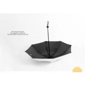 Payung Lipat Print Kartun Hewan Kelinci / Rabbit - YS067 - White - 7