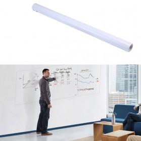 Stiker Dinding Papan Tulis Putih Whiteboard 45 x 100 cm - H5AB-044 - White