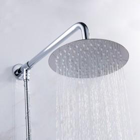 SHARON Kepala Shower Mandi Rainfall Stainless Steel Round Shower 4 Inch - S30470054 - Silver - 3