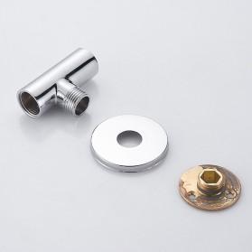 SHARON Kepala Shower Mandi Rainfall Stainless Steel Round Shower 4 Inch - S30470054 - Silver - 10