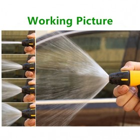 SPTA Semprotan Air Steam Cuci Mobil Nozzles Spray Water Gun - W204 - Yellow - 5