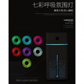 Taffware Air Humidifier Aromatherapy RGB Night Light 1000ml - HUMI KS-600 - White - 6