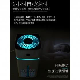 Taffware Air Humidifier Aromatherapy RGB Night Light 1000ml - HUMI KS-600 - White - 7