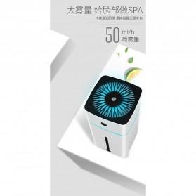 Taffware Air Humidifier Aromatherapy RGB Night Light 1000ml - HUMI KS-600 - White - 9