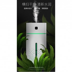Taffware Air Humidifier Aromatherapy Oil Diffuser RGB Night Light 1000ml - HUMI KS-600 - White - 10