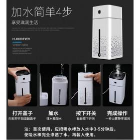 Taffware Air Humidifier Aromatherapy RGB Night Light 1000ml - HUMI KS-600 - White - 11