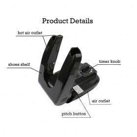Taffware Pengering Sepatu Elektrik 200W 220V Shoe Dryer - lll0152ls - Black - 5