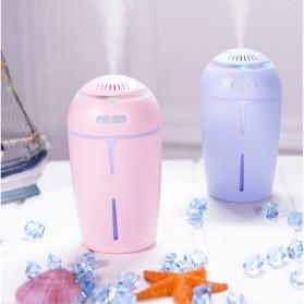 Taffware Ultrasonic Air Humidifier 300ml with RGB Light LED Night - HUMI OFAN-511 - Blue - 3