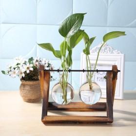 Pot Tanaman Gantung Minimalis Hydroponics Bonsai Plant 2 Vase