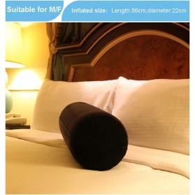 TOUGHAGE Bantal Guling Inflatable Erotic Pillow Sex Support with Vibrator Holder - PF3102 - Navy Blue - 5