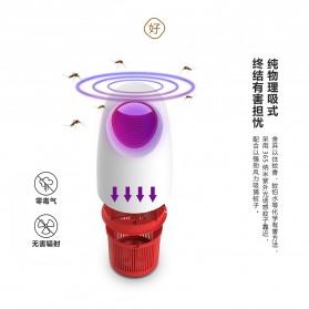 LED365 Pembasmi Nyamuk UV LED USB Mosquito Repellent - WD-08 - Black - 5