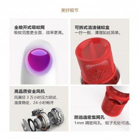 LED365 Pembasmi Nyamuk UV LED USB Mosquito Repellent - WD-08 - Black - 6