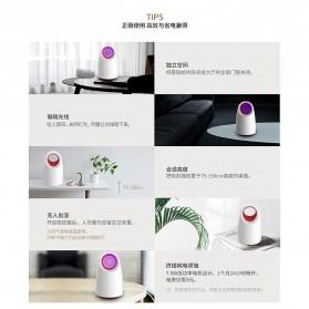 LED365 Pembasmi Nyamuk UV LED USB Mosquito Repellent - WD-08 - Black - 8