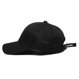 Ninjafresh Topi Baseball Hip Hop XXXTentacion Music Fashion Hat - H520 - Black - 3