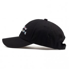 Topi Baseball No New Friend Hip Hop Sport Fashion Hat - Q455040 - Black - 3