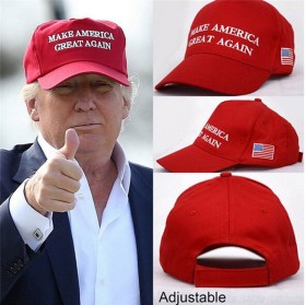 Topi Baseball Make America Great Again Sport Fashion Hat - 935052 - Black - 2