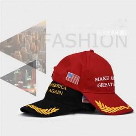Topi Baseball Make America Great Again Sport Fashion Hat - 935052 - Black - 4