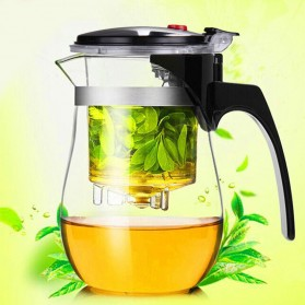 OneTwoCups Teko Pitcher Teh Chinese Teapot Maker 500ml - TP-757 - Transparent