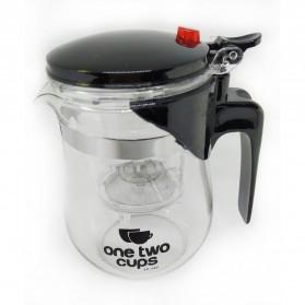 OneTwoCups Teko Pitcher Teh Chinese Teapot Maker 500ml - TP-757 - Transparent - 3