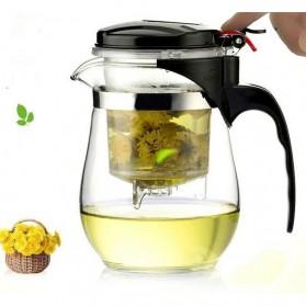 OneTwoCups Teko Pitcher Teh Chinese Teapot Maker 500ml - TP-757 - Transparent - 4