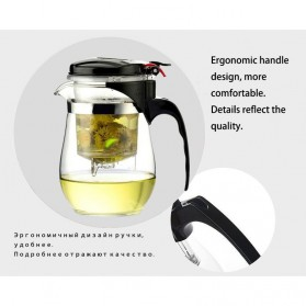 OneTwoCups Teko Pitcher Teh Chinese Teapot Maker 500ml - TP-757 - Transparent - 6